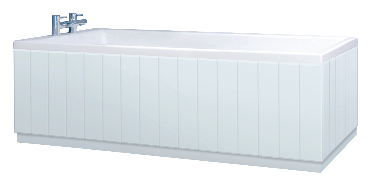 Made Pale Blue Bath Panel all Styles